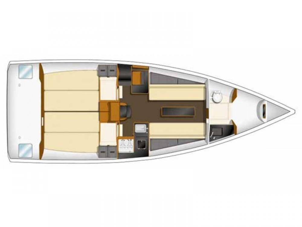 Boat rental Zeebrugge cheap Sun Fast 3200