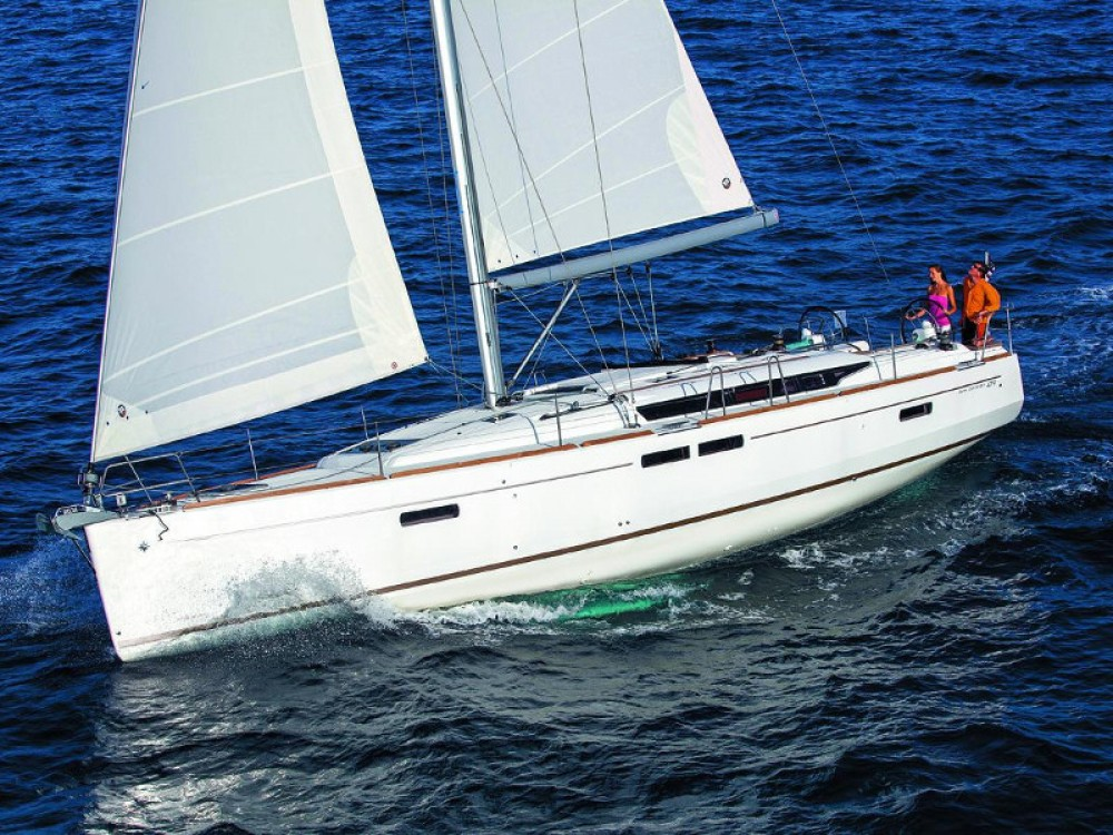 Jeanneau Sun Odyssey 509 between personal and professional Nieuwpoort