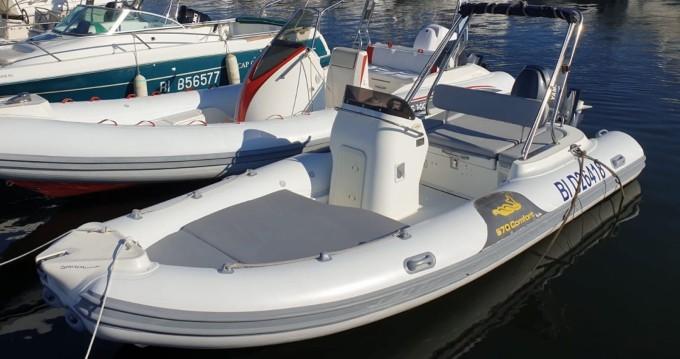 Boat rental Saint-Florent cheap MV 570 Comfort