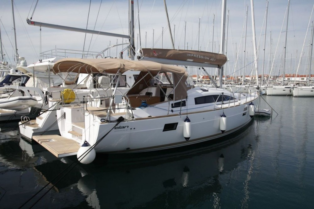 Boat rental Pirovac cheap Elan Impression 45.1