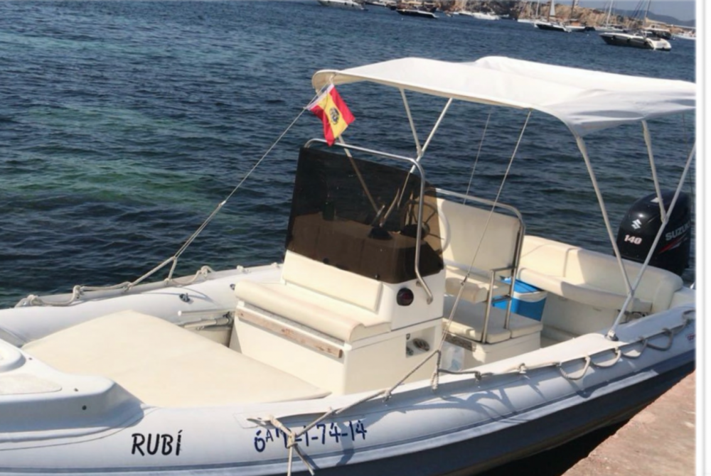 RIB for rent Ibiza at the best price
