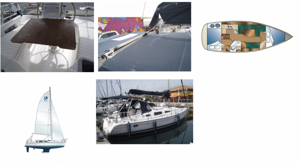Boat rental Hunter 33 shoal keel in Cagliari on Samboat