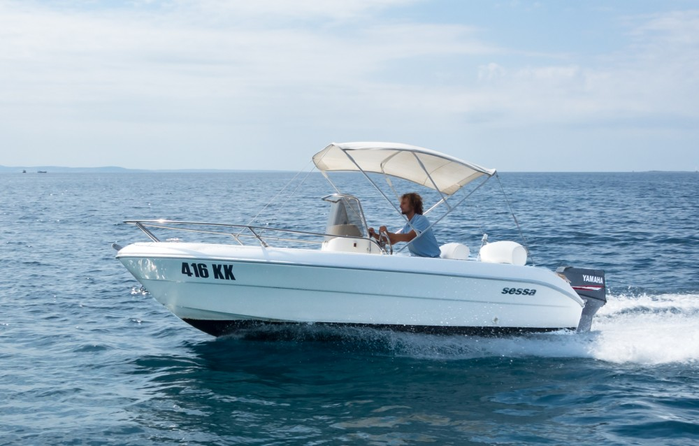Rent a Sessa Marine Key Largo 17 Krk