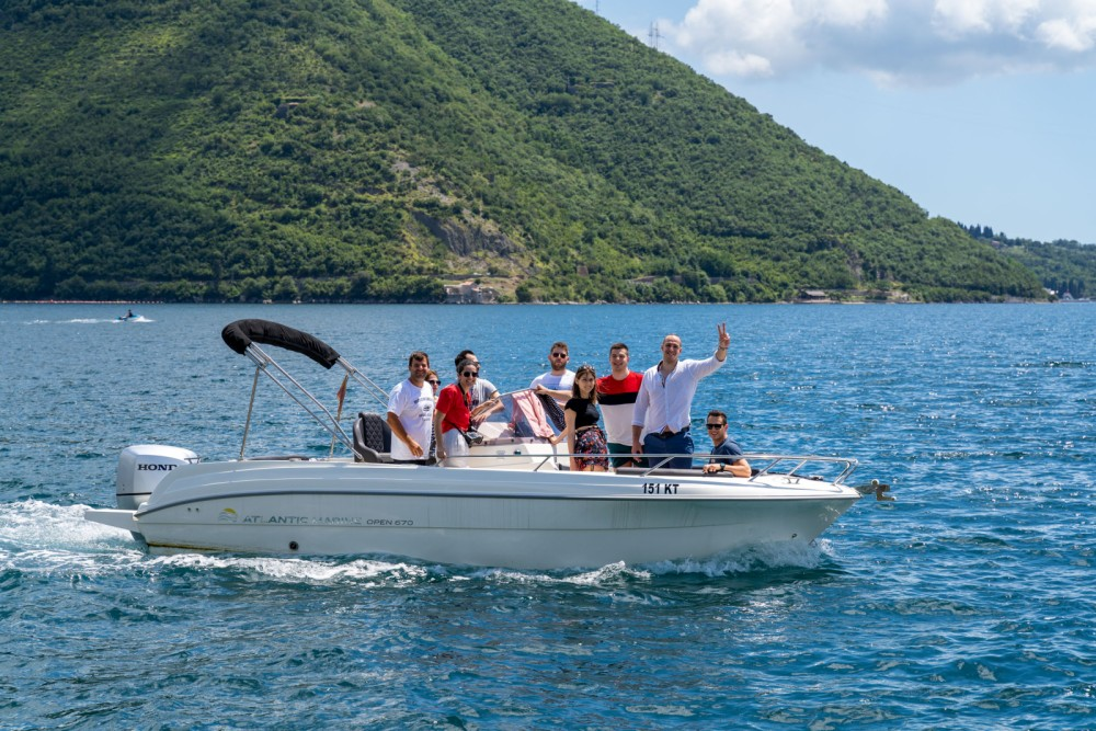 Boat rental Kotor cheap open 670