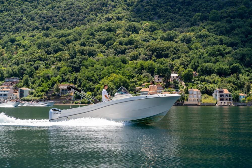 Rental Motorboat in Kotor - Atlantic open 750