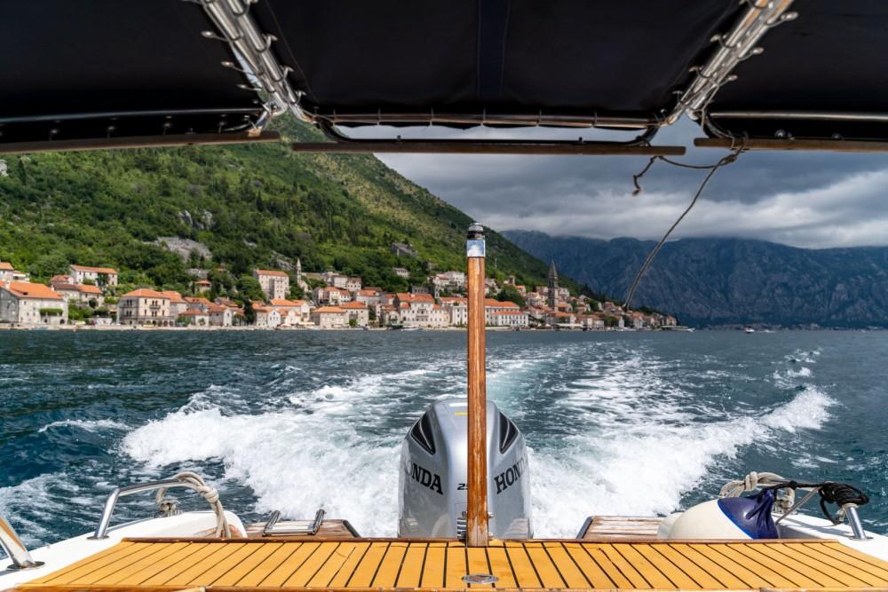 Rental Motorboat in Kotor - handmade Don Amon