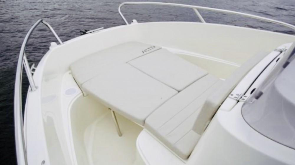 Rental Motorboat in Marseille - Quicksilver Activ 505 Open