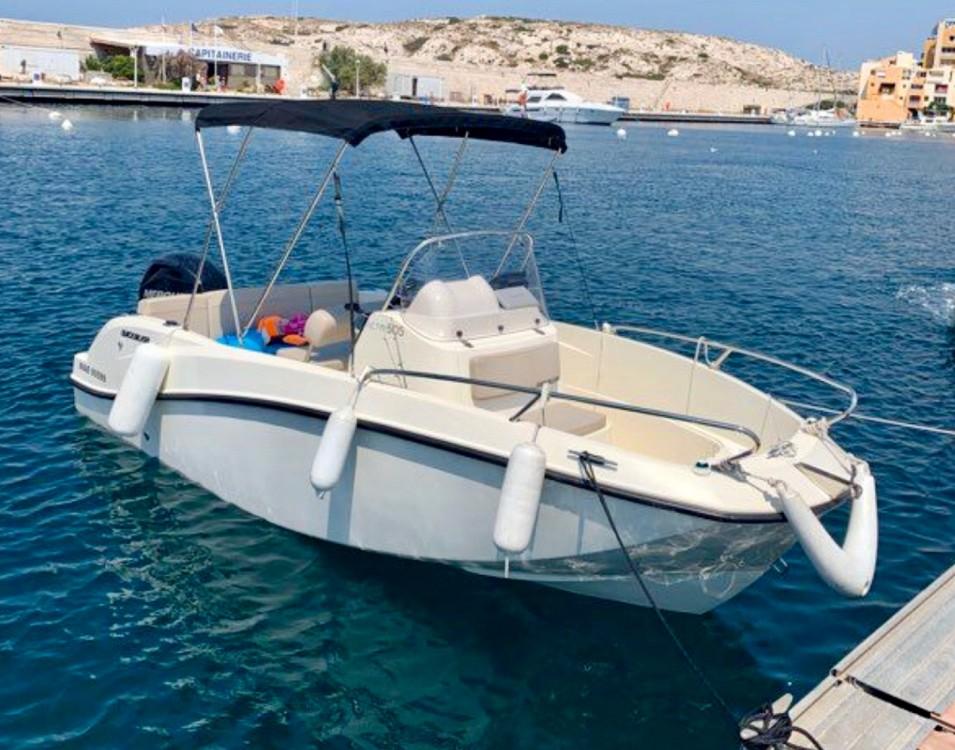 Boat rental Marseille cheap Activ 505 Open