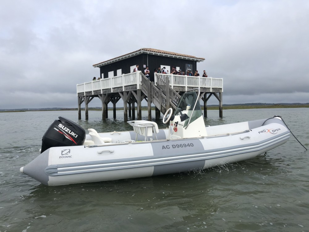 Boat rental Andernos-les-Bains cheap Pro Open 550