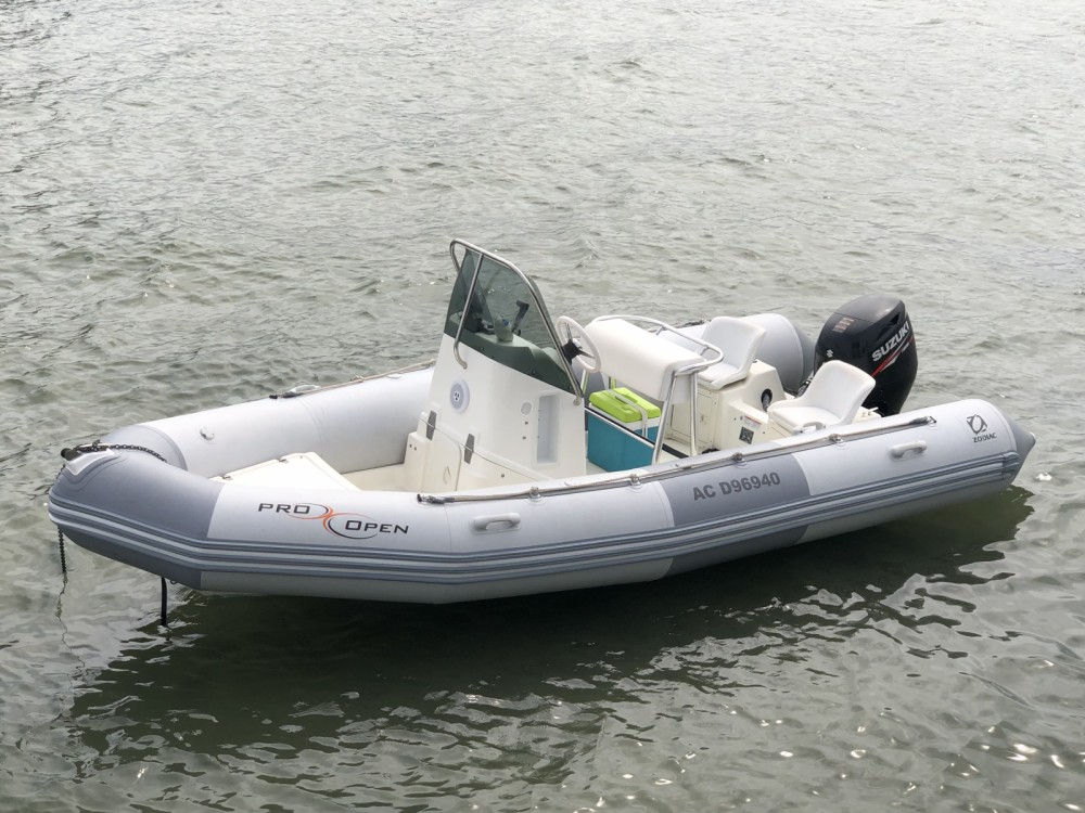 Zodiac Pro Open 550 between personal and professional Andernos-les-Bains