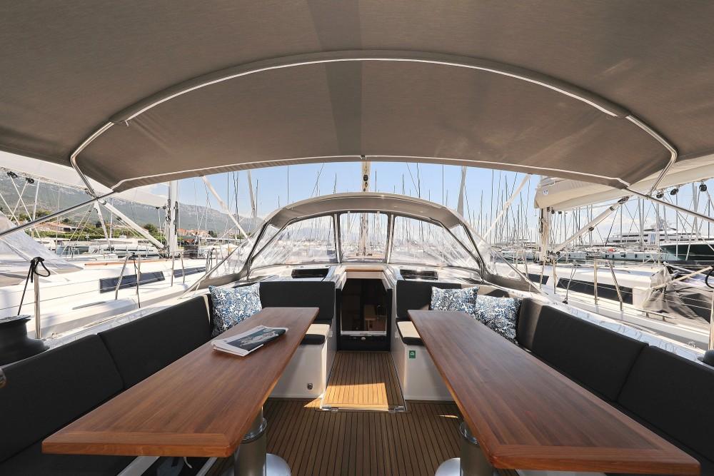 Boat rental Croatie cheap Hanse 588 - 4 + 1 cab.