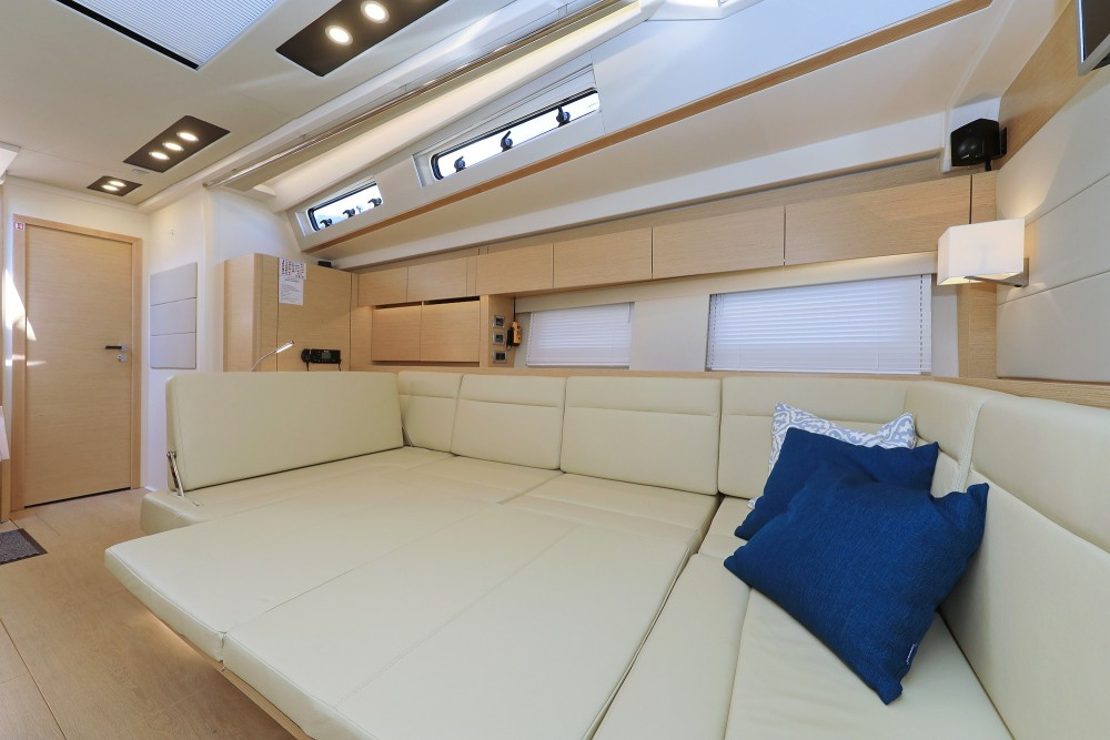 Rental Sailboat in Croatie - Hanse Hanse 588 - 4 + 1 cab.