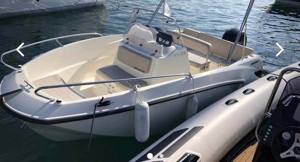 Hire Motorboat with or without skipper Quicksilver La Rochelle