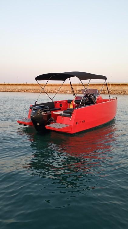 Boat rental Torrevieja cheap Nuva M6 Open