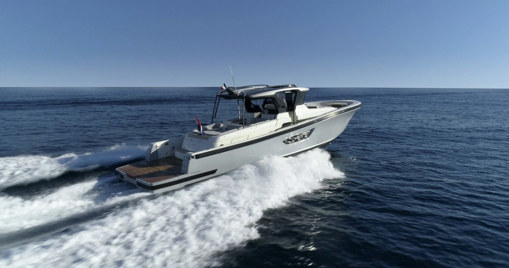 Rental Motorboat Bluegame Yachts with a permit