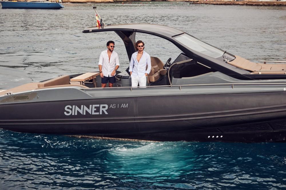 Boat rental Palma cheap Rebel 40