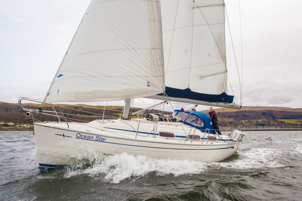Hire Sailboat with or without skipper Bavaria Ayrshire