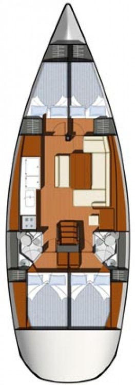 Rental Sailboat in Ayrshire - Jeanneau Sun Odyssey 44i
