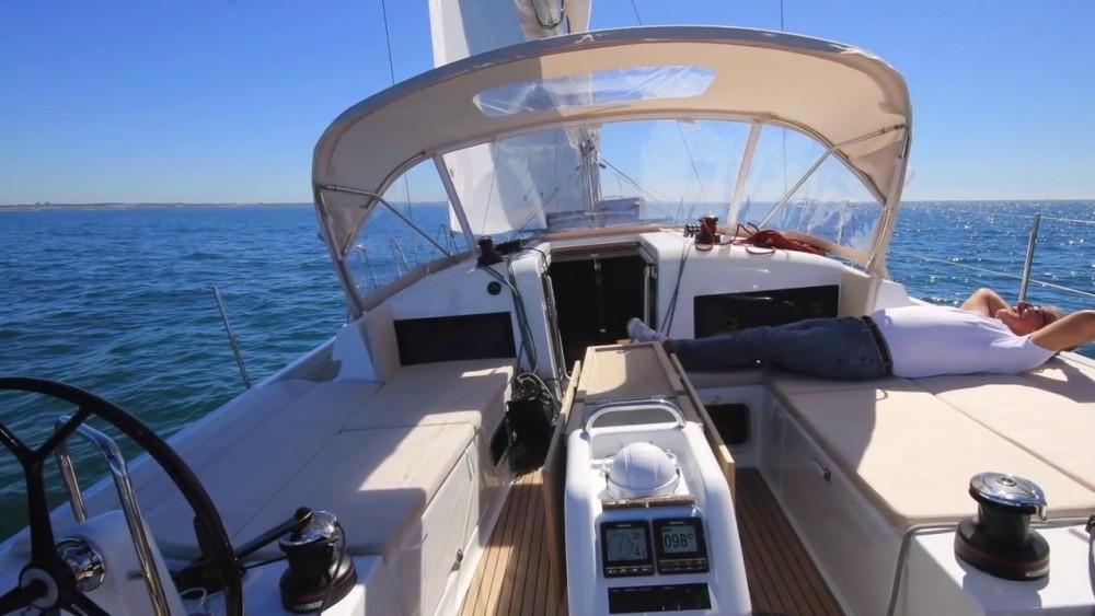Boat rental Greece cheap Sun Odyssey 440