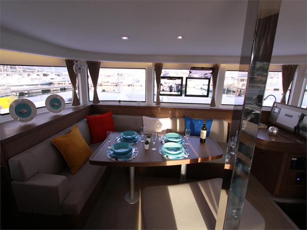 Boat rental Corfu cheap Lagoon 42 - 4 + 2 cab.