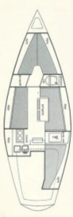 Rental Sailboat in Sweden - Comfort Comfort 30