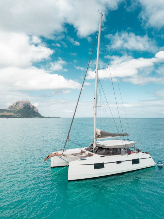 Hire Catamaran with or without skipper Nautitech Rochefort Mauritius