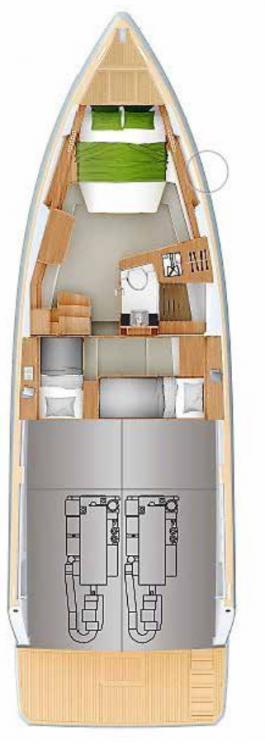 Boat rental Balearic Islands cheap Fjord 44 Open