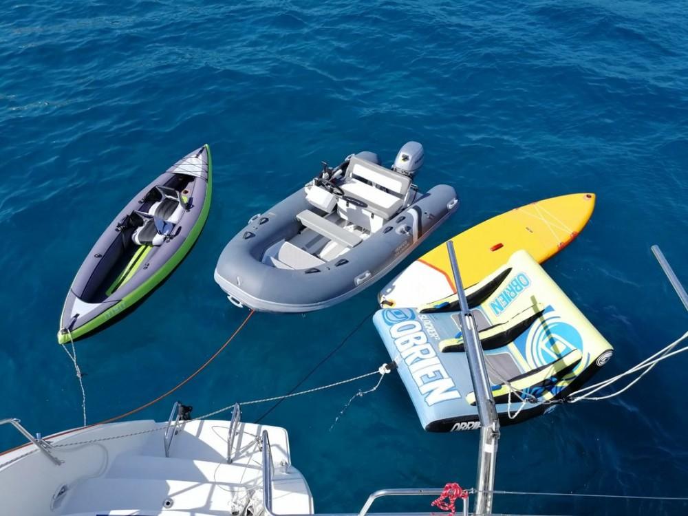 Rent a Lagoon Lagoon 450 F - 4 + 1 cab. Balearic Islands