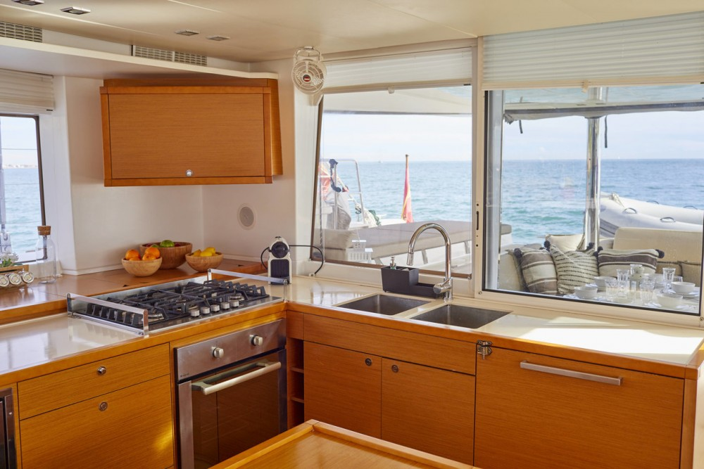 Catamaran for rent Balearic Islands at the best price