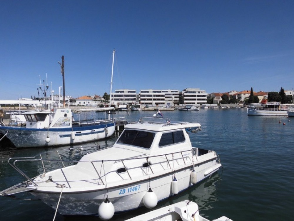 Hire Motorboat with or without skipper Damor Grad Zadar