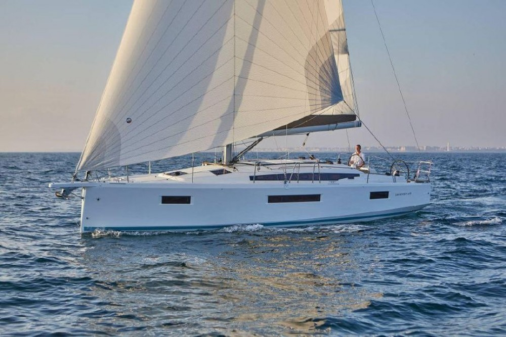 Jeanneau Sun Odyssey 410 - 3 cab. between personal and professional Ionian Islands