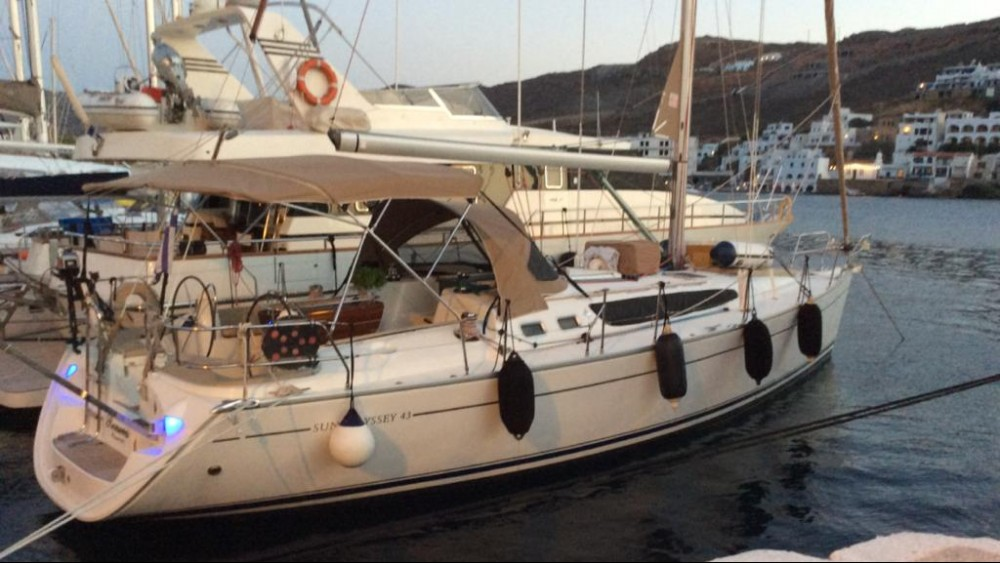 Jeanneau Sun Odyssey 43 between personal and professional Peloponnese