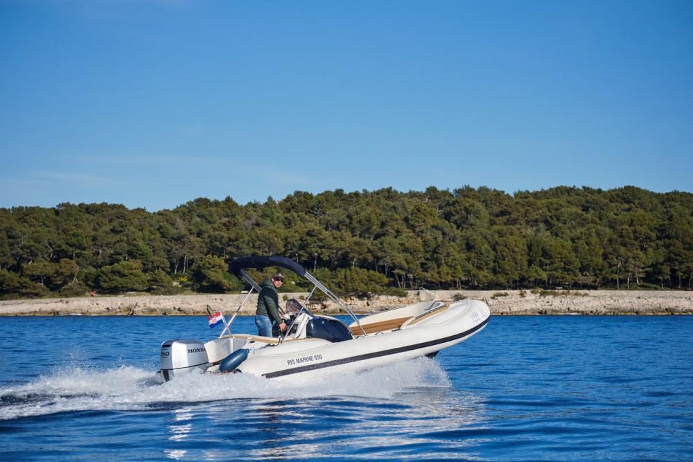 Boat rental Primorje - Gorski Kotar cheap Ris Marine Exclusive 650