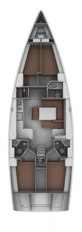 Bavaria Bavaria Cruiser 45 - 4 cab. between personal and professional Turkey