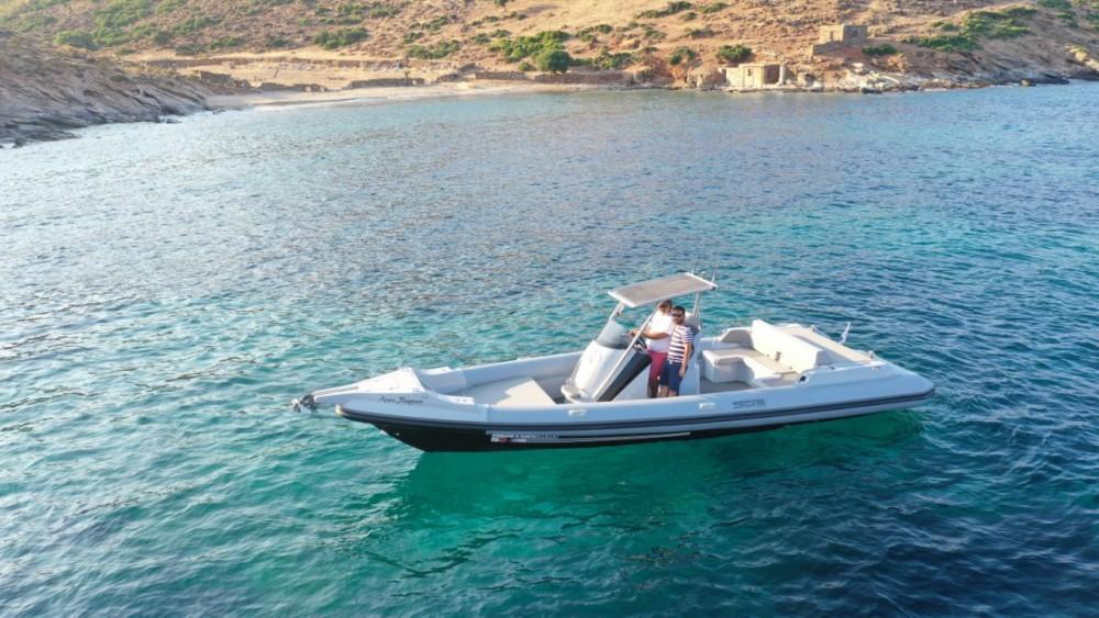 Boat rental Peloponnese cheap Nestor 900