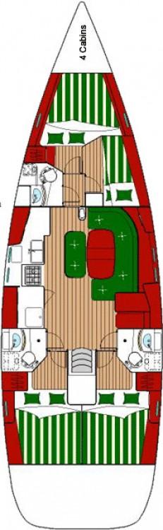 Boat rental Peloponnese cheap Oceanis Clipper 473