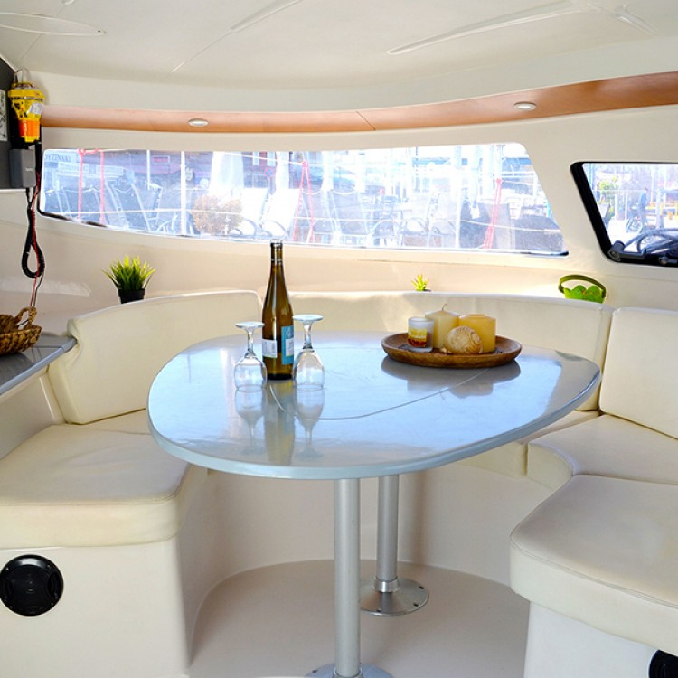 Rental Catamaran in Vólos - Fountaine Pajot Athena 38