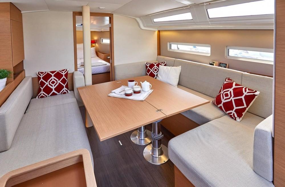 Boat rental Ionian Islands cheap Sun Odyssey 410 - 3 cab.