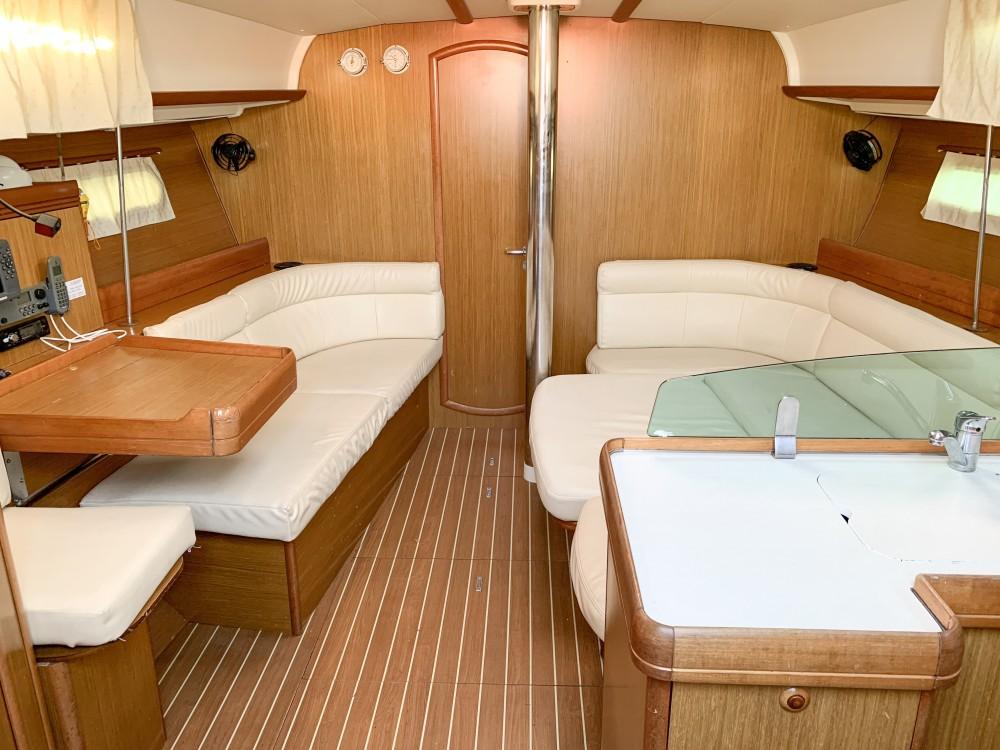 Rental Sailboat in Greece - Jeanneau Sun Odyssey 42i