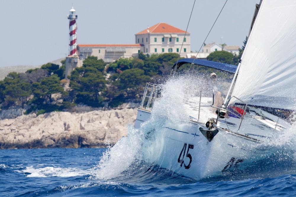 Boat rental Croatia cheap Bavaria 47 Cruiser