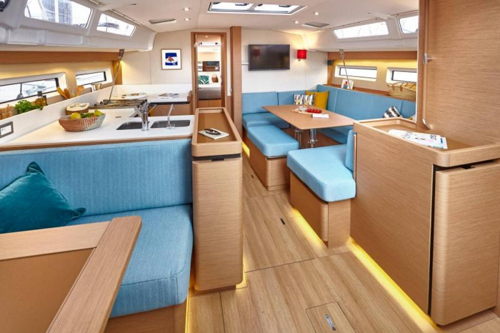 Rental yacht Greece - Jeanneau Sun Odyssey 490 - 5 cab. on SamBoat