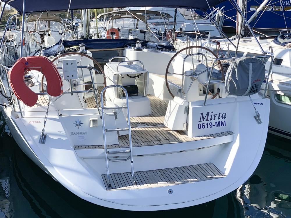 Boat rental Greece cheap Sun Odyssey 49i