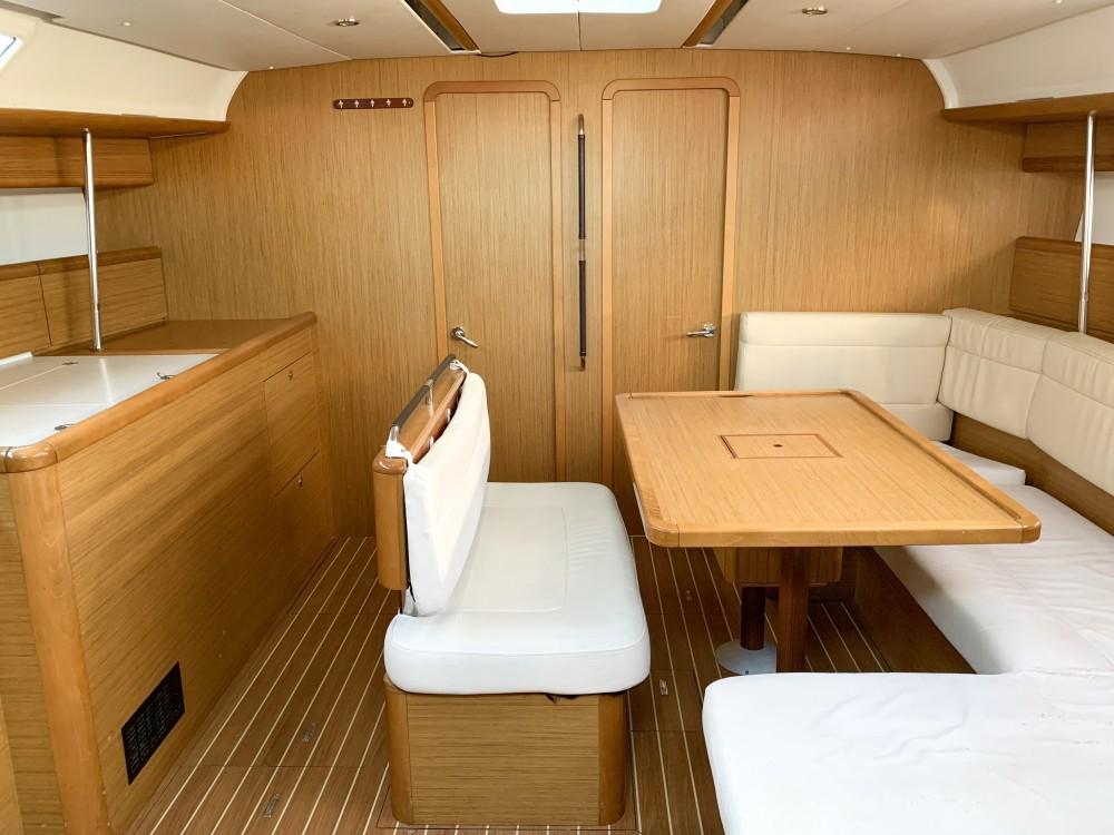 Rental Sailboat in Greece - Jeanneau Sun Odyssey 49i
