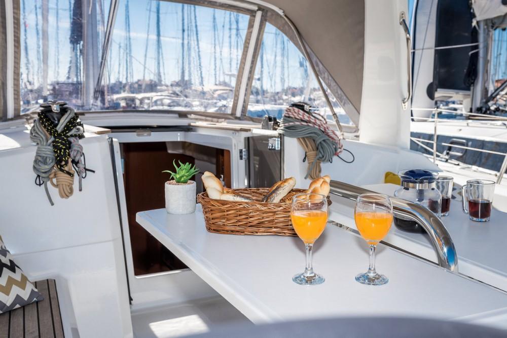 Boat rental  cheap Oceanis 38.1