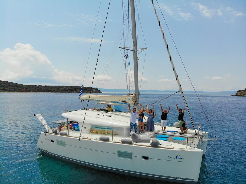 Rental Catamaran in Greece - Lagoon Lagoon 400 - 4 + 2 cab.