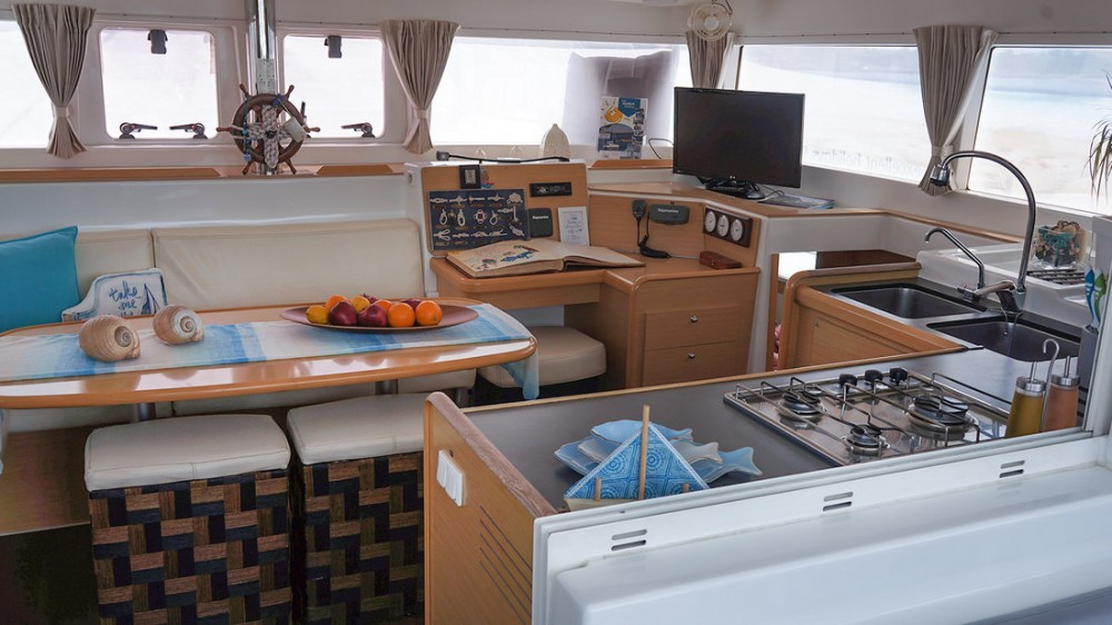 Boat rental Greece cheap Lagoon 400 - 4 + 2 cab.