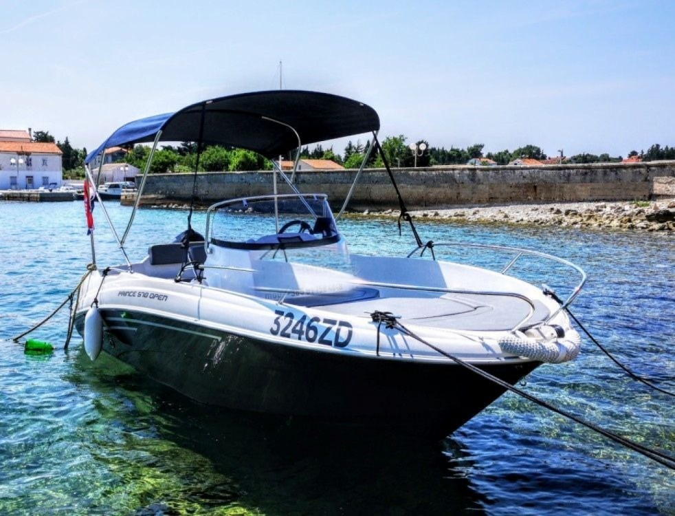 Boat rental Prince Prince 570 Open in Croatia on Samboat