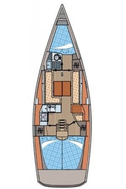 Boat rental Elan Elan 350 Performance - 3 cab. in Croatia on Samboat
