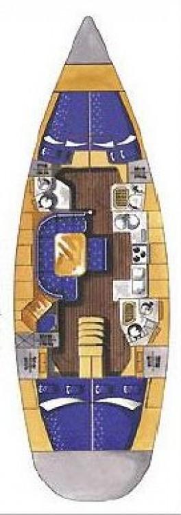 Boat rental Croatia cheap Elan 45