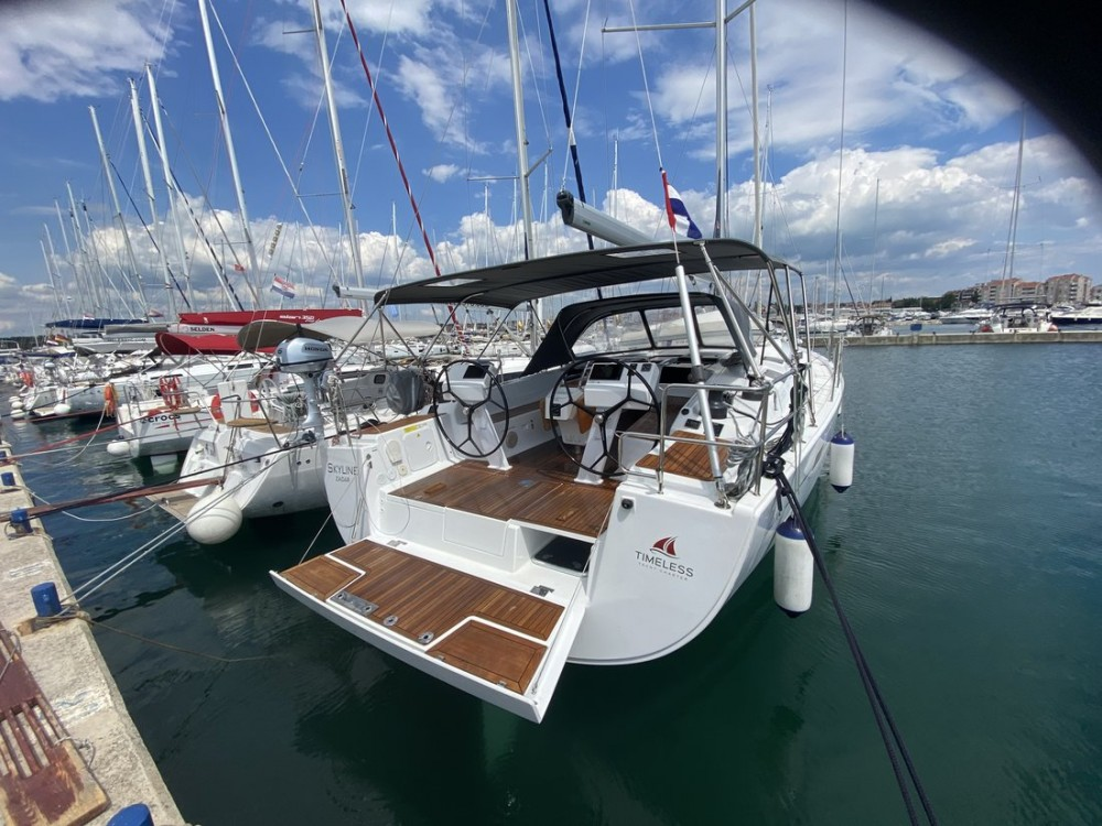 Boat rental Croatia cheap Hanse 505 - 5 + 1 cab.